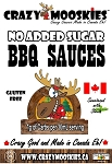 Crazy Mooskies No Added Sugar Original BBQ Sauce