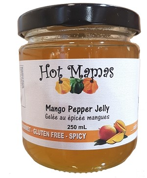 Hot Mamas Mango Pepper Jelly 250ml