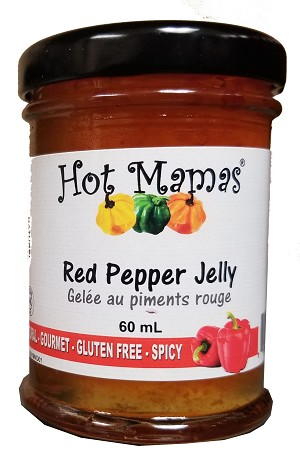 Hot Mamas Red Pepper Jelly 60ml