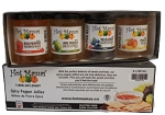 Hot Mamas Pepper Jelly Taster- 4 Pack