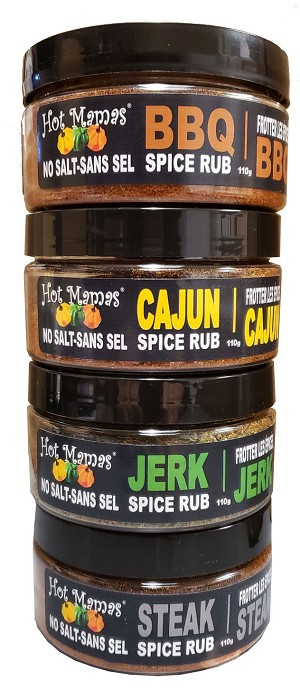 Hot Mamas Spice Rub Gift Pack