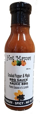 Hot Mamas Cracked Pepper & Maple BBQ Sauce
