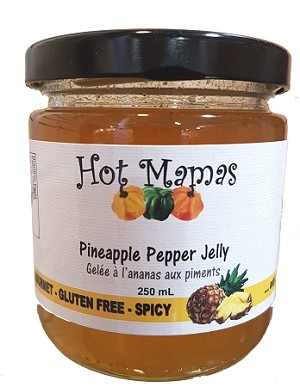 Hot Mamas Pineapple Jelly 250ml